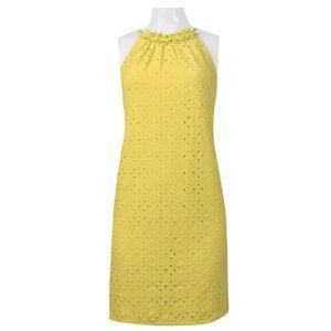 Halter Neck Dress(T2682M/SUNKIST)